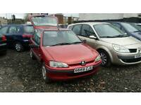 PEUGEOT 106 ++1.6 DIESEL MANUAL++LONG MOT++CHEAP RUN ABOUT++P/X TO CLEAR