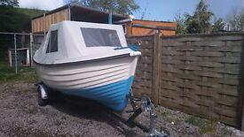 14ft Orkney fishing boat