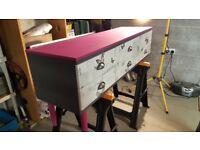 Unique restored dresser sidetable furniture