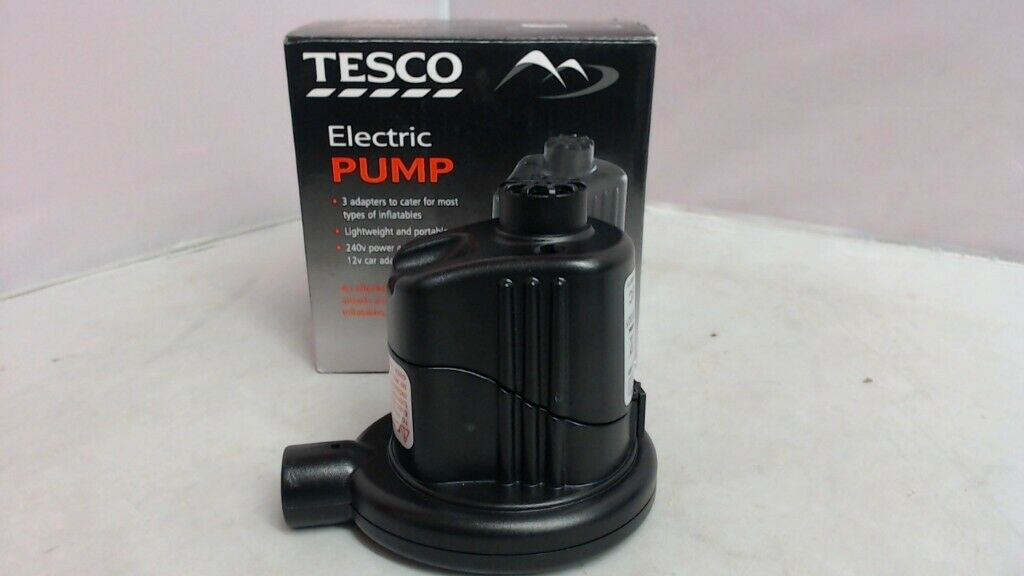 Tesco Electric Pump Full 6 Month Warranty 182966my In Falkirk Gumtree