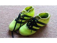 Children's Adidas football boots size 2