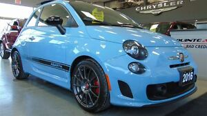 2016 Fiat 500 ABARTH - 5 SPEED MANUAL - ONLY 4,700 KMS