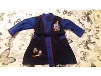 Thomas the Tank Dressing Gown Size 2 -3