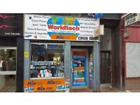 Mobile Phones Repair & Accessory shop for sale in a busy location.