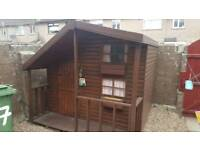 8 x 8 top quality wooden playhouse