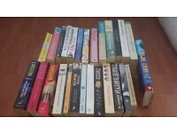 Selection of books inc. Zadie Smith, Margaret Atwood, Alexander McCall Smith