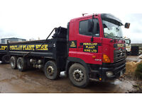We are buying for breaking Hino 700 Series, 8 wheeler tipper wagons Euro 4 Engines