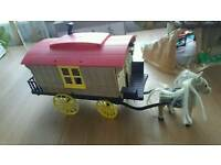 Sylvanian horse and carriage.