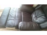 Leather Sofa Massage Recliner