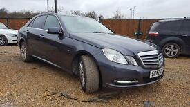 Mercedes E200 CDI 7G Tronic Saloon B/E Start/Stop not e220