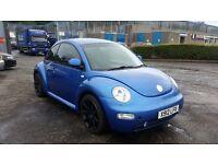 2001 (X Reg) Volkswagen Beetle 1.6 For £595, 12 Months Mot on Sale