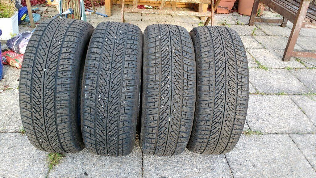 Winter Tyres 4 Goodyear Ultragrip 215 60 R16 99H XL