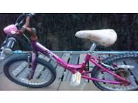 Girl's bike age 6-9ish