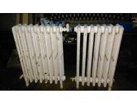 Cast iron column radiator