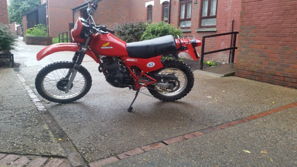 clic honda xl 400 trials bike 1982 kick start | in Croydon ...