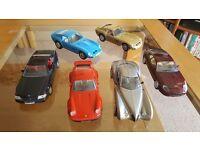 Guiloy die cast cars x 6