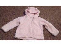 Girls 12-18 months thin fleece