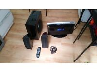 Samsung HT-X200 DVD CD 2.1 Home Theater System