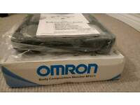 Brand new OMRON body composition monitor.