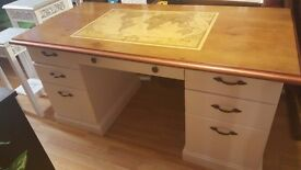 VINTAGE REWORKER LARGE DESK