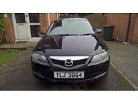 Mazda 6 black 2.0 diesel 2007 49000 miles!