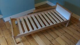 IKEA Toddler Beds Untreated Solid Pine VGC (2 available)