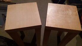 IKEA Lack Side Tables (Pair)