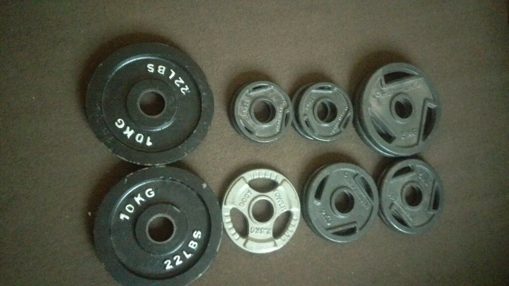 Olympic weights 45.5kg
