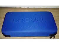 Dremel drilling machine with case and accessories