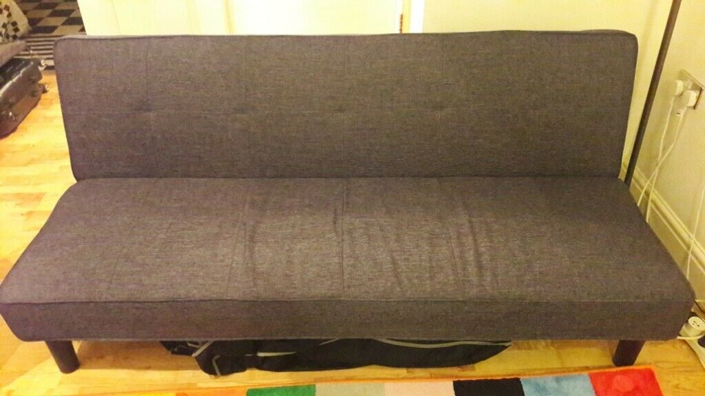 Outstanding Hardly Used Argos Home Patsy 2 Seater Clic Clac Sofa Bed Charcoal In Bath Somerset Gumtree Machost Co Dining Chair Design Ideas Machostcouk