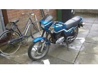 125cc motorbike for sale - good project