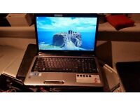 Toshiba satellite l770 windows 7 screen size 17.3 6g memory 500g hard drive processor intel core i3