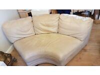 FREE Corner Leather Sofa