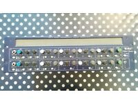 TL Audio EQ-2 Stereo 2 channel valve equalizer eq with stereo mic preamps Vintage Price includes VAT
