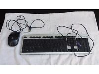 Keyboard & HP Mouse Bundle