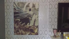MARVEL COMIC 2 BATMAN AND JOKER CANVAS'S