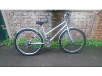 Women's Salsa Excel mountain bike with useful accessories