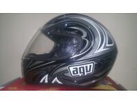 Agv helmet in good condition! size medium 56-58cm Can deliver or post!