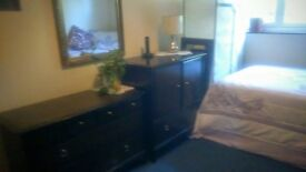 Available now for rent one large clean, furniture double Bedroom, to a single or professional person