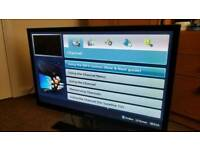Samsung 3D plasma tv 43 inch with 2x 3D glasses