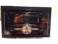 JVC double din car stereo, rarely used