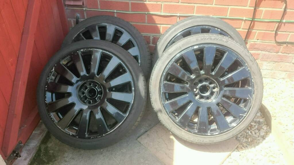 """18"""" Rs8 style alloy wheels"""
