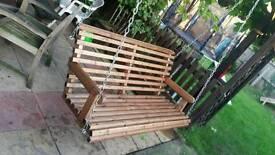 Garden Wooden swing..