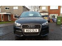 Quick sale Audi A1 SE 1.6 TDi 2012 New timing belt/discs/pads/tyres/full service history, spare key