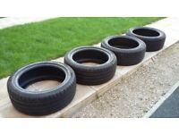 Tyre set 225 45 17 (4x)