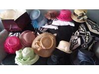 12 Hat's for Wedding-Birthday-christmas -Races