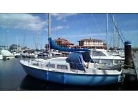 Sailng yacht