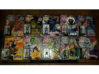 Marvel and DC figurines