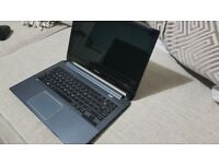 "Fast toshiba 14"" ultrabook/laptop i5,6gb ram, ssd and hdd, backlit keyboard"