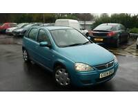 2004 VAUXHALL CORSA 1.2 DESIGN 16V, LOW MILES ONLY 71K, LONG MOT, CHEAP TAX AND INS, IDEAL 1ST CAR